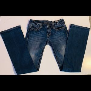 Miss Me Jeans with Pewter detail • 27